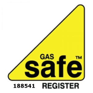 Tara M gas safe logo on white